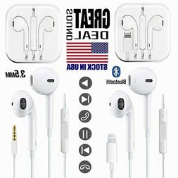Wired Headset Headphones Earbuds For Apple iPhone 5 6 7 8 Pl