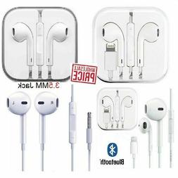 Wired Headset Headphones Earbuds For iPhone 5 6 7 8 Plus X X