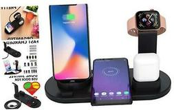 Wireless Charger, 4 in 1 Charging Dock Station for Smart Pho